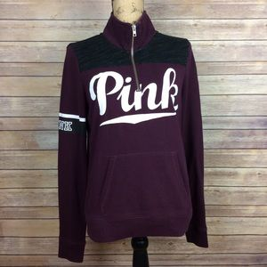 Pink Victorias Secret Small Burgundy Sweatshirt
